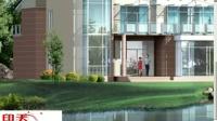 AutoCAD与3DMAX的结合应用--别墅外观建模过程一