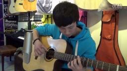 吉他教学《愿望的樱花》酷音乐器小伟吉他弹唱吉他教学入门指弹吉他