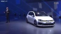 全新一代大众高尔夫R 400概念车全球首发    群易网