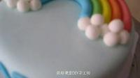 抚顺烘焙课堂DIY手工坊 翻糖 彩虹 蛋糕_标清