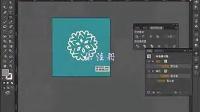 AI视频教程_AI教程_AI实例教程_海报设计篇_简约雪花海报