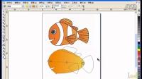 CorelDraw精典案例-30.图形的填充-纹理和吸管