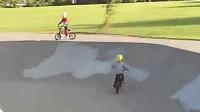 小孩子的单车骑行传奇