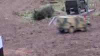 韩流方向标—超酷RC坦克模拟野外战地训练