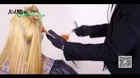 最新中长发渐变染色染发剪发美发教程 染发调色技巧