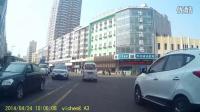 卫程A3行车记录仪哈尔滨密密麻麻的林苑宾馆空调高清实测