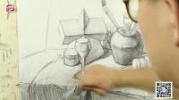 美术艺考 素描教学阶段性小节:黑白灰关系篇  杨俊峰