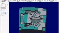 ProE电极线割电极批量输出CAD