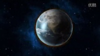 AE制作地球穿梭和爆炸