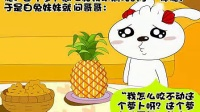 菠萝身上为什么长许多小包_标清