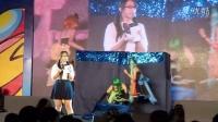 2014.5.2第六届萤火虫动漫展cosplay大赛--主持人美女介绍节目2