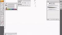 AI教程  AI工具介绍教程  AI视频教程-画笔工具的使用