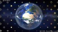 强悍的地球俯冲缩放特效AE模板