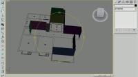 CAD第一节课室内装饰建筑平面图