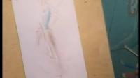 7【基础服装效果图的绘制--水溶笔的铅笔绘画技法】