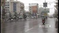 [拍客]甘肃河西走廊山丹县入夏后下雪 积雪达10厘米