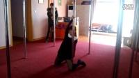 【艾恩舞蹈】  长沙钢管舞 1 钢管舞视频  钢管舞成品舞 猫舞 5