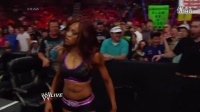Paige Wins, Fox Flips - Raw Fallout - May 12, 2014