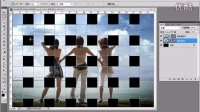 【PSCS6调色教程】如何使用PS制作数码照片编织效果