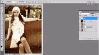 【PSCS6调色教程】如何使用PS制作烧焦的老照片效果