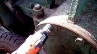 375牛米冲击扳手拆卸一大型齿轮箱上的M20螺栓
