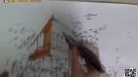 建筑手绘 重庆手绘 景观手绘 培训 艺道 马克笔教程