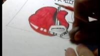 央美2012年平面设计高分试卷解析(3)美术高考素描教程