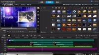 【模板制作工程项目演示】会声会影X6模板 紫色珠帘