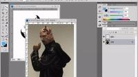 ps视频教程ps照片平面设计培训 添加纹身效果