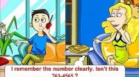 17打错电话  -365天英语口语大全日常口语flash动画_标清