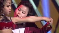 韩国舞蹈神童挑战trouble marker双人舞 现场火辣热舞