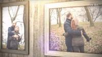 A00616--浪漫秋日心情怀旧照片墙温馨展示AE模板
