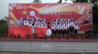 重庆江津区白沙镇三口中学合唱