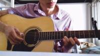 《遇见》吉他独奏 简单又好听的曲子(2rd)走音版