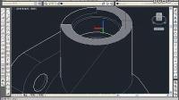 十天学会cad教程cad制作实例观察阀体三维模型