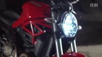 怪兽出栏了 2015 杜卡迪 Monster 821 摩托车 官方视频