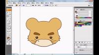 平面设计 ai  ai教程 ai视频教程  路径造型实例——卡通动物形象