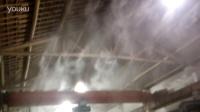 车间水雾除尘人工造雾室内降温雾化喷嘴 雾化效果13575517034喷雾
