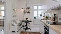 俯瞰海港风光 哥德堡一居室公寓设计装修效果图齐家网