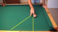 老张台球--高杆分离角-30度角的应用