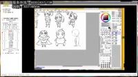 米塔尔YY免费数字艺术教学课堂--Q版人物绘画技法教学4  2014.6.5