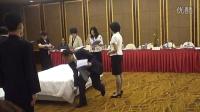 中式铺床全国第三名