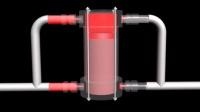 第三代纯蒸汽压缩机工作原理图