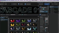 AE E3D动画材质包 MotionWorks – MovieType for Element 3D