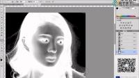 超清视频PS黑色发丝抠图