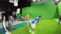 足球明星内马尔展示松下 4K 拍摄可穿戴摄像机 HX-A500