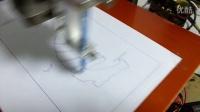 美兰达CAD导图点胶机视频