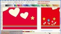 CDRX6基础教程设计卡通 怎么用coreldraw制作卡片视频教程学习