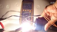 高性能永磁发电机 微型 点亮25W 12V 灯泡