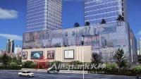 火种数字科技-湘潭中心-建筑三维动画-商业写字楼